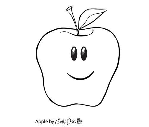 Amy doodle apple