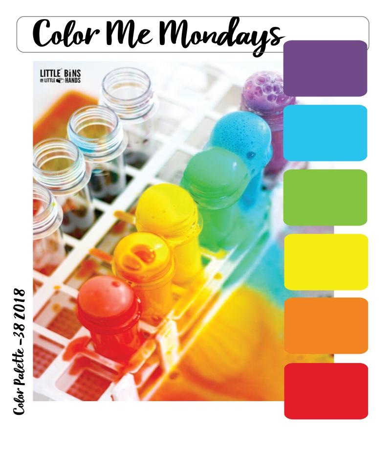 Color Me Monday 38