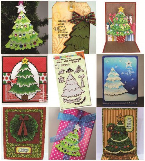 Create christmas stamp sample