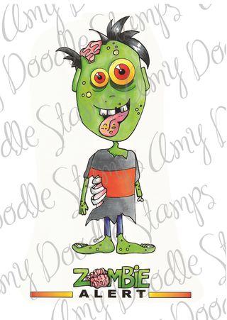 Zombie Zach colored