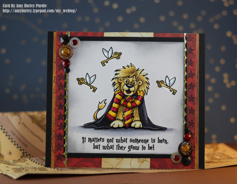 Gryffindor card front watermarked